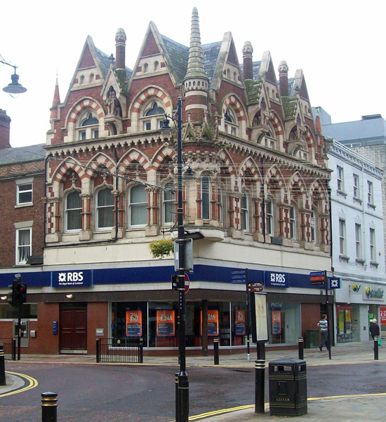 The Elephant Tea Rooms building